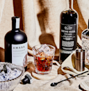 """<p>Rob the White Russian of its """"white"""" and you get a darker, bolder, blacker cocktail. Like Dunkin' without vanilla creamer or Folgers without half and half.</p><p><a class=""""link rapid-noclick-resp"""" href=""""https://www.esquire.com/food-drink/drinks/a29655014/black-russian-cocktail-drink-recipe/"""" rel=""""nofollow noopener"""" target=""""_blank"""" data-ylk=""""slk:Read More"""">Read More</a></p><p><strong>Ingredients</strong><br>• 2 oz. vodka<br>• 1 oz. coffee liqueur</p><p><strong>Directions</strong><br>Stir ingredients with ice in a mixing glass. Strain into an Old Fashioned glass over fresh ice.</p>"""