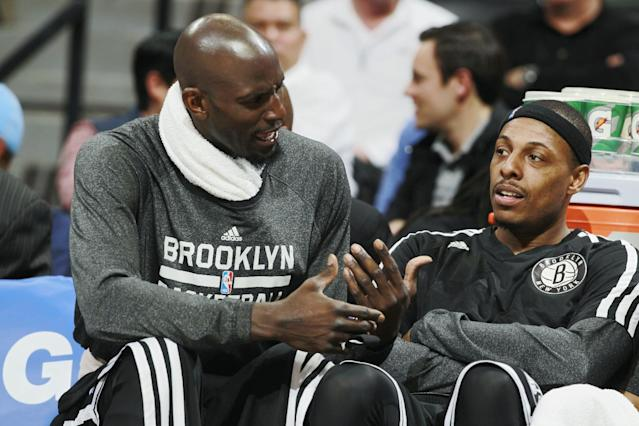 Kevin Garnett says there's no exact timetable for his return to the Nets