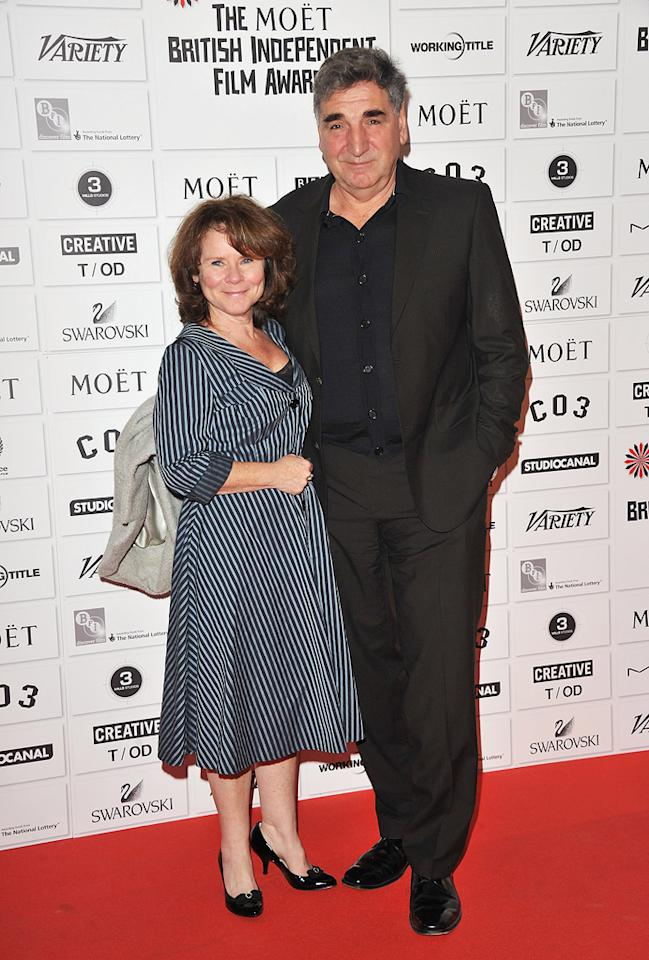 """<a href=""""http://movies.yahoo.com/movie/contributor/1800172358"""">Imelda Staunton</a> and <a href=""""http://movies.yahoo.com/movie/contributor/1800019917"""">Jim Carter</a> at the 2011 British Independent Film Awards on December 4, 2011 in London, England."""