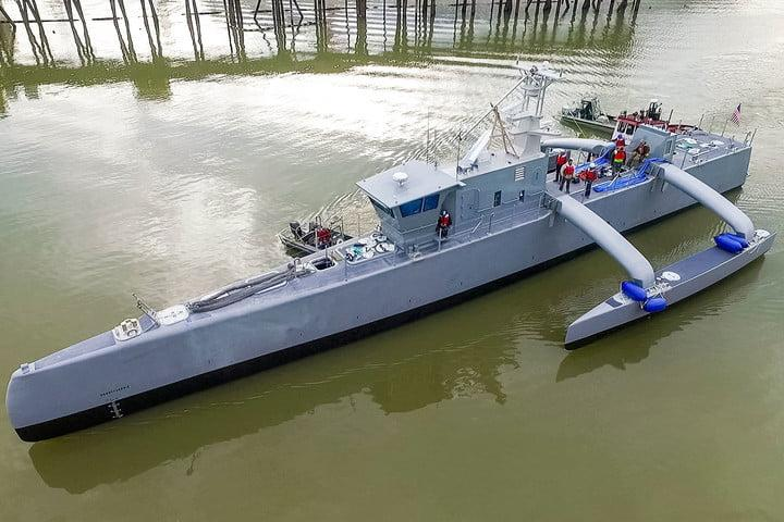 darpa officially christens the actuv in portland launch 6