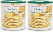 """<p><strong>Stonewall Kitchen</strong></p><p>amazon.com</p><p><strong>$24.95</strong></p><p><a href=""""https://www.amazon.com/dp/B001E5E29A?tag=syn-yahoo-20&ascsubtag=%5Bartid%7C2164.g.36547983%5Bsrc%7Cyahoo-us"""" rel=""""nofollow noopener"""" target=""""_blank"""" data-ylk=""""slk:Shop Now"""" class=""""link rapid-noclick-resp"""">Shop Now</a></p><p>This bundle comes with two 33-ounce canisters of classic country pancake and waffle mix—plenty for a big brunch or a houseful of hungry kids. The malted flour makes waffles that are light and fluffy, with a hint of vanilla. Try using the mix in cookies and muffins, too.<br></p>"""