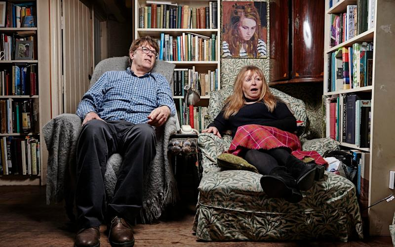 Giles and Mary, stars of Gogglebox - Channel 4