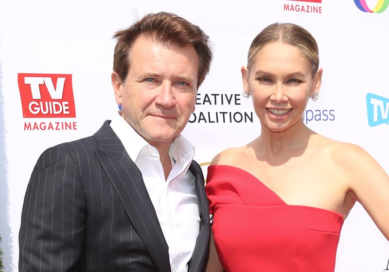Kym Johnson and Robert Herjavec Welcome Their Twin Babies