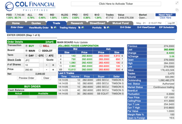 COL Financial Philippines