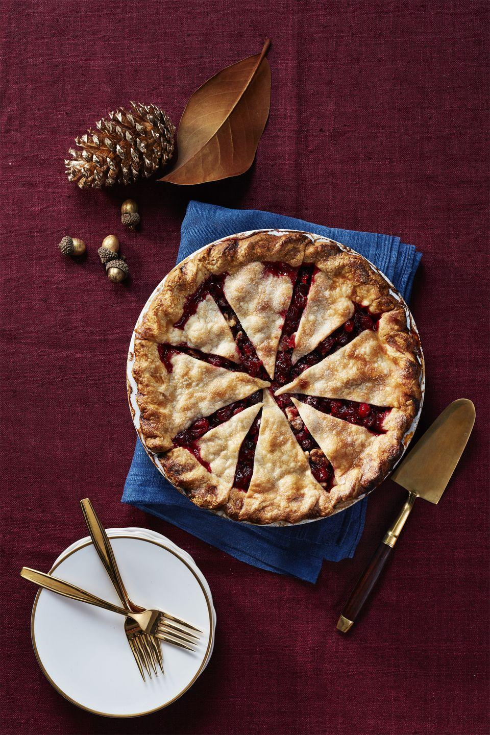 "<p>A tart and festive recipe that's welcome at any dessert table.<a href=""https://www.womansday.com/food-recipes/food-drinks/recipes/a56479/cranberry-pie-recipe/"" rel=""nofollow noopener"" target=""_blank"" data-ylk=""slk:"" class=""link rapid-noclick-resp""><br></a></p><p><a href=""https://www.womansday.com/food-recipes/food-drinks/recipes/a56479/cranberry-pie-recipe/"" rel=""nofollow noopener"" target=""_blank"" data-ylk=""slk:Get the Cranberry Pie recipe."" class=""link rapid-noclick-resp""><strong><em>Get the Cranberry Pie recipe. </em></strong></a></p><p><strong>What You'll Need:</strong> <a href=""https://www.amazon.com/Talisman-Designs-Pastry-Decorator-Beautiful/dp/B01DEY8KVO/"" rel=""nofollow noopener"" target=""_blank"" data-ylk=""slk:Pastry Wheel Decorator"" class=""link rapid-noclick-resp"">Pastry Wheel Decorator</a> ($11, Amazon)</p>"