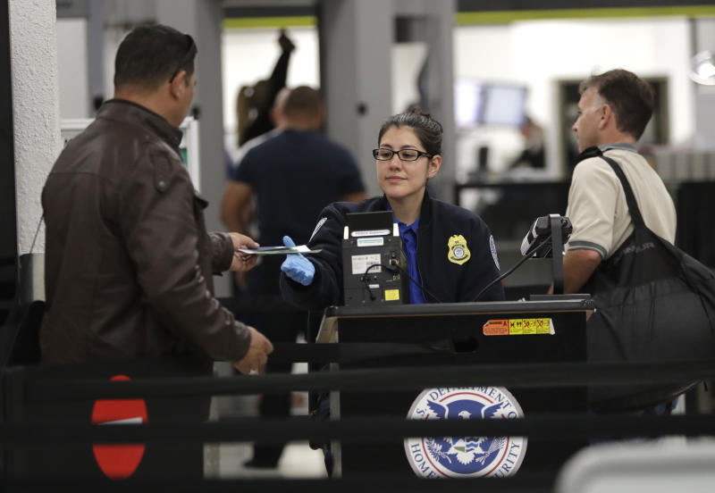 Many TSA agents have had to report to work without being paid throughout the shutdown. It will take an act of Congress to give those workers backpay once the government reopens. (ASSOCIATED PRESS)