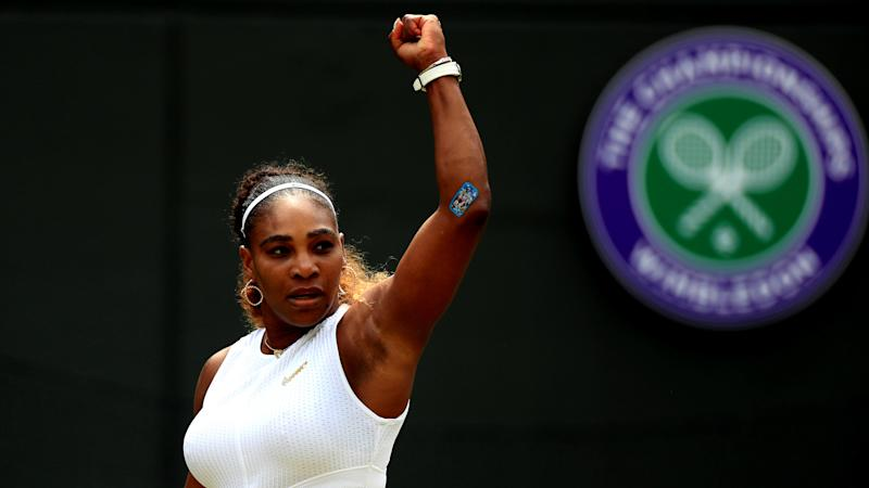 Williams fined 10K dollars for damaging Wimbledon court