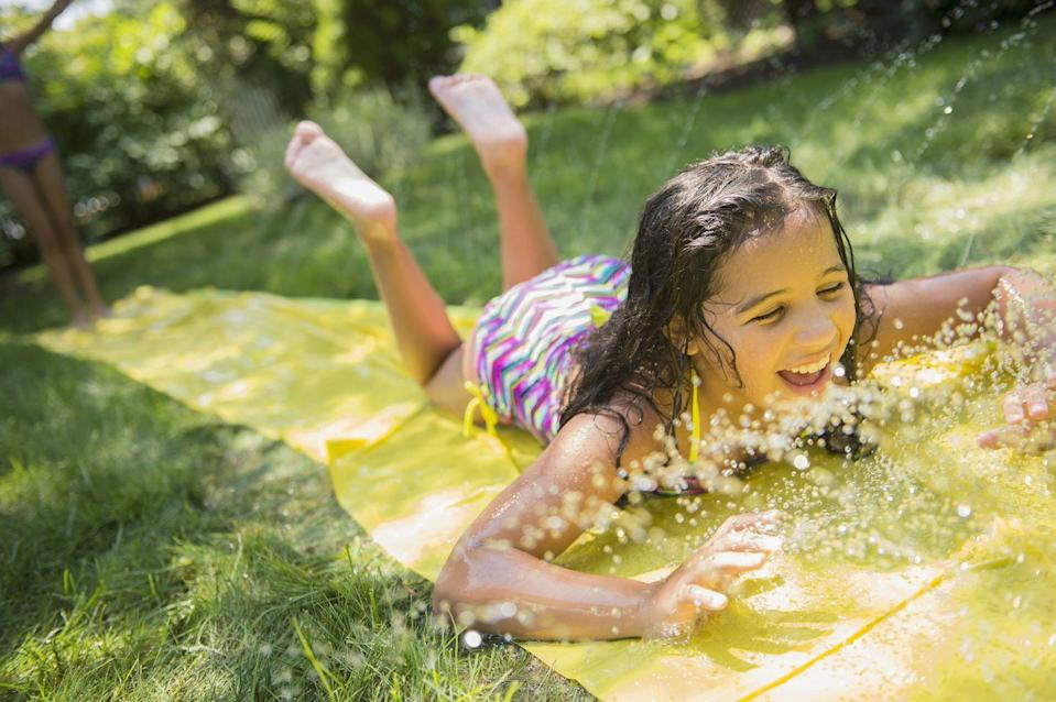 <p>No pool? No problem! The Slip 'n Slide was way cooler anyway...at least, that's what you told your pool-owning friends. </p>