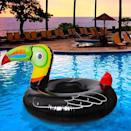 <p>If you can't go to a tropical beach, bring the tropics home to you with this <span>Geefuun Tropical Toucan Inflatable Pool Float</span> ($17).</p>