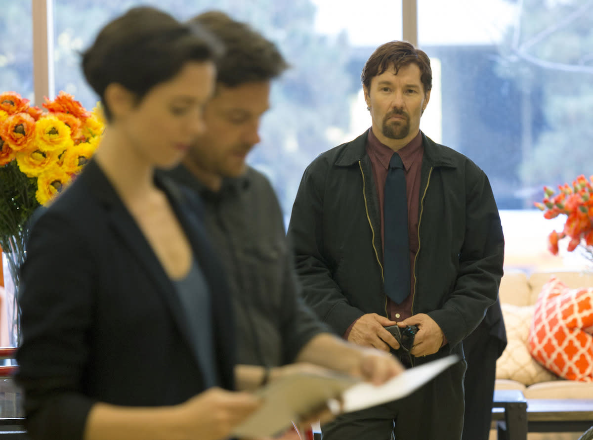 <p>Joel Edgerton wrote, directed and stars in this white-knuckle psychological thrill ride that makes <i>Fatal Attraction</i> look like amateur hour. He plays a creeptastic guy who suddenly shows up in the lives of his former high-school acquaintance (Jason Bateman) and his new wife (Rebecca Hall), bringing along a shocking 20-year-old secret. This terrifying <i>Gift</i> is a keeper. —<i> Marcus Errico (</i>Photo Credit:STX)</p>