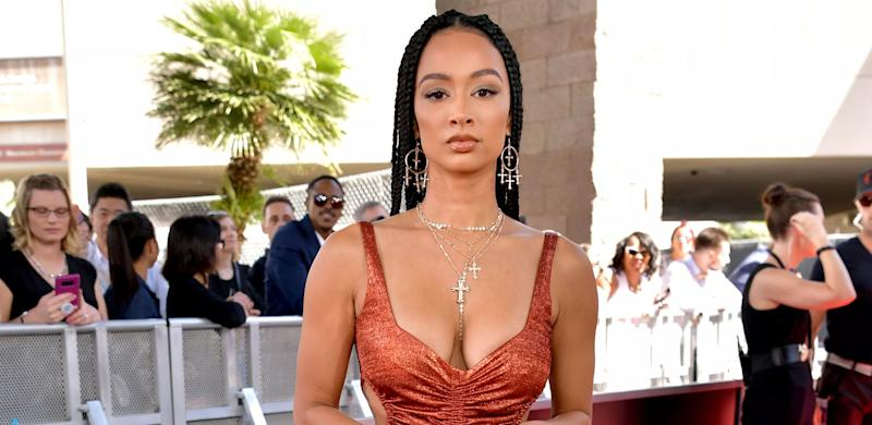 Draya Michele poses at an event