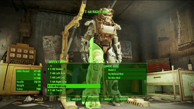 Laser muskets and powered armor power up Fallout 4's gameplay