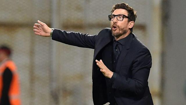 AS Roma have confirmed that manager Eusebio Di Francesco has signed a contract extension which should see him remain with the club until 2020. The 48-year-old led Roma to a third-place finish in Italy's top flight last season, a campaign which produced some incredible moments in the Champions League - particularly against Barcelona - who they reversed a huge deficit against to progress to the semis. OFFICIAL ✍️ Coach Eusebio Di Francesco has signed a new contract with #ASRoma until 2020! ...