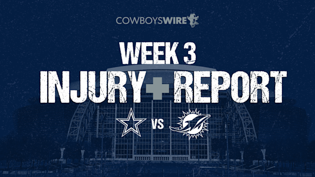 Cowboys feeling early-season injury impact on both sides of ball in Week 3