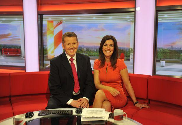Bill Turnbull and Susanna Reid worked together on 'BBC Breakfast' (Credit: BBC)