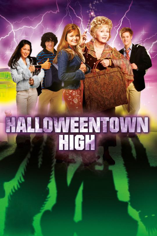 <p>Tune in to see a young Finn Wittrock (<i>American Horror Story</i>) gallivant around with a bunch of other teens in Halloweentown! So what's this one about? Brutal murder.<br><br><i>(Credit: Disney Channel)</i> </p>