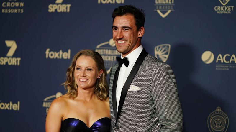 Mitchell Starc will leave Australia's tour to attend the Women's Twenty20 World Cup final