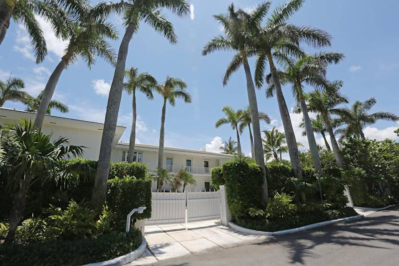 This waterfront home in Palm Beach is part of Jeffrey Epstein's vast holdings. In the wake of his death in the Manhattan lockup, it is not clear what happens to this and other properties.