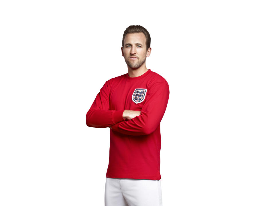 Harry Kane is supporting the Bobby Moore Fund for Cancer Research UK ahead of Football Shirt Friday on November 20, when people are asked to wear their favourite shirt and donate £5 to fight bowel cancer (Cancer Research UK)