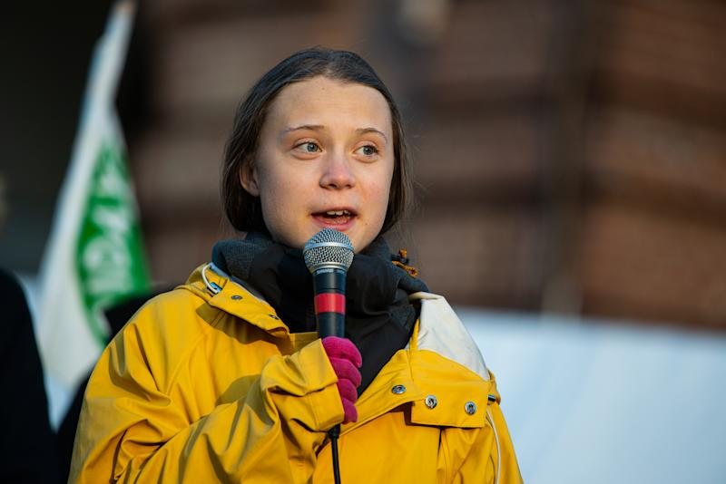 "Greta Thunberg responds to Meat Loaf, after the singer called her ""brainwashed."" (Photo: Getty Images)"