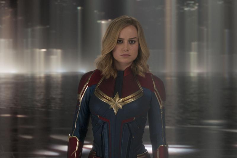 Captain Marvel soars to Marvel's seventh biggest opening with $61.4 million