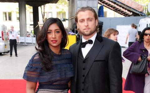Tina Daheley says her fiance Kane is incredibly supportive - Credit: REX/Shutterstock