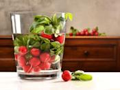 <p>When radishes, celery, or carrots have lost their crunch, simply pop them in a bowl of iced water along with a slice of raw potato and watch the limp vegetables freshen up right before your eyes.</p>