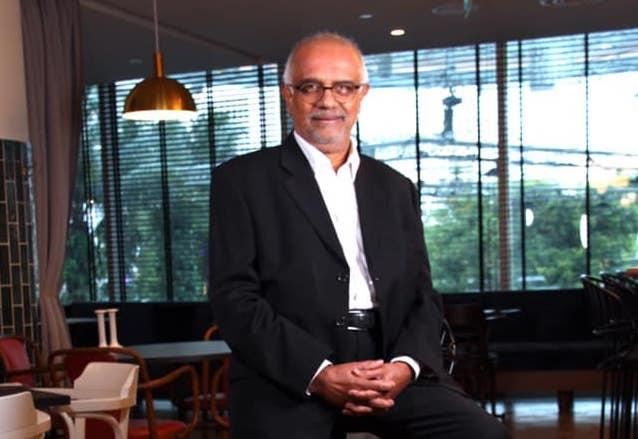 Lawyer Edmond Pereira, who is leading TeamSGP Athletics to contest in the Singapore Athletics election on 25 September 2020. (PHOTO: Facebook/TeamSGP Athletics)