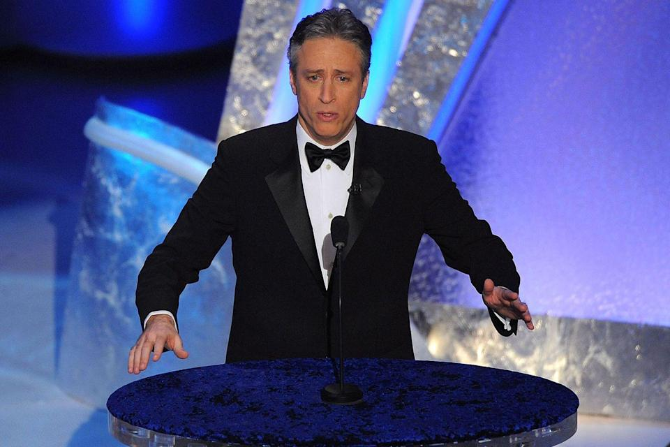 "<p>Jon Stewart hosted the evening, which saw Daniel Day-Lewis, Marion Cotillard, Javier Bardem, and Tilda Swinton take home the acting prizes. The last time all of the acting awards went to thespians who weren't born in the U.S. was in 1964. That year, <em><a href=""https://www.amazon.com/dp/B006H8JJXS?ref=sr_1_1_acs_kn_imdb_pa_dp&qid=1547580478&sr=1-1-acs&autoplay=0&tag=syn-yahoo-20&ascsubtag=%5Bartid%7C10055.g.5132%5Bsrc%7Cyahoo-us"" rel=""nofollow noopener"" target=""_blank"" data-ylk=""slk:No Country For Old Men"" class=""link rapid-noclick-resp"">No Country For Old Men</a></em> won Best Picture and Best Director (Joel and Ethan Coen).</p>"