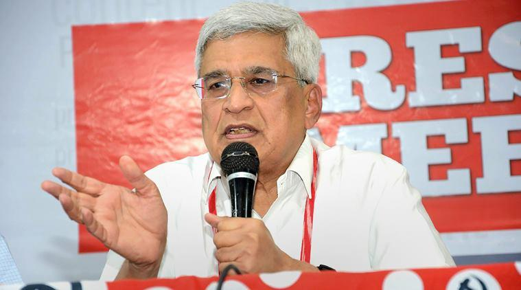 Tripra BJP government, Tripura government, Prakash Karat, Prakash Karat on Modi-Shah, Prakash Karat CPI(M), India news, Indian Express