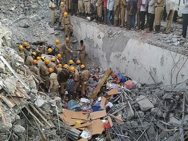 Dharwad building collapse: Karnataka govt suspends seven corporation officers for negligence