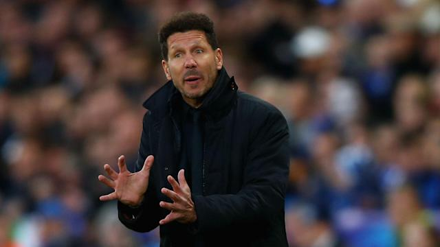 Atletico Madrid will again face Real Madrid in the Champions League, but Diego Simeone insists it does not matter who the opponents are.