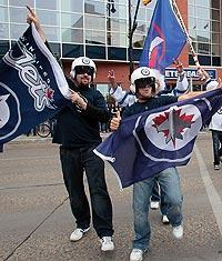On Oct. 9, the NHL returned to Winnipeg after a 15-year hiatus