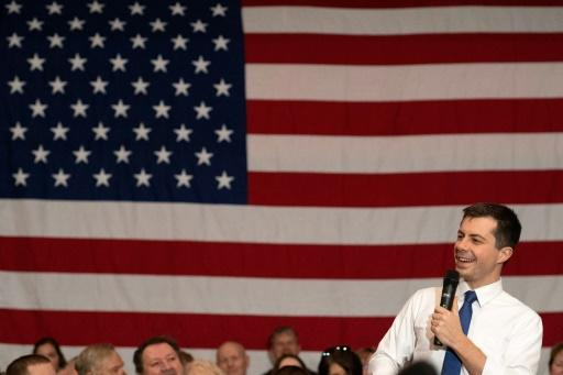 White House hopeful Pete Buttigieg, a former South Bend, Indiana mayor, has been barnstorming Iowa ahead of its first-in-the-nation Democratic nomination vote on February 3, 2020, while some rivals are in US President Donald Trump's impeachment trial
