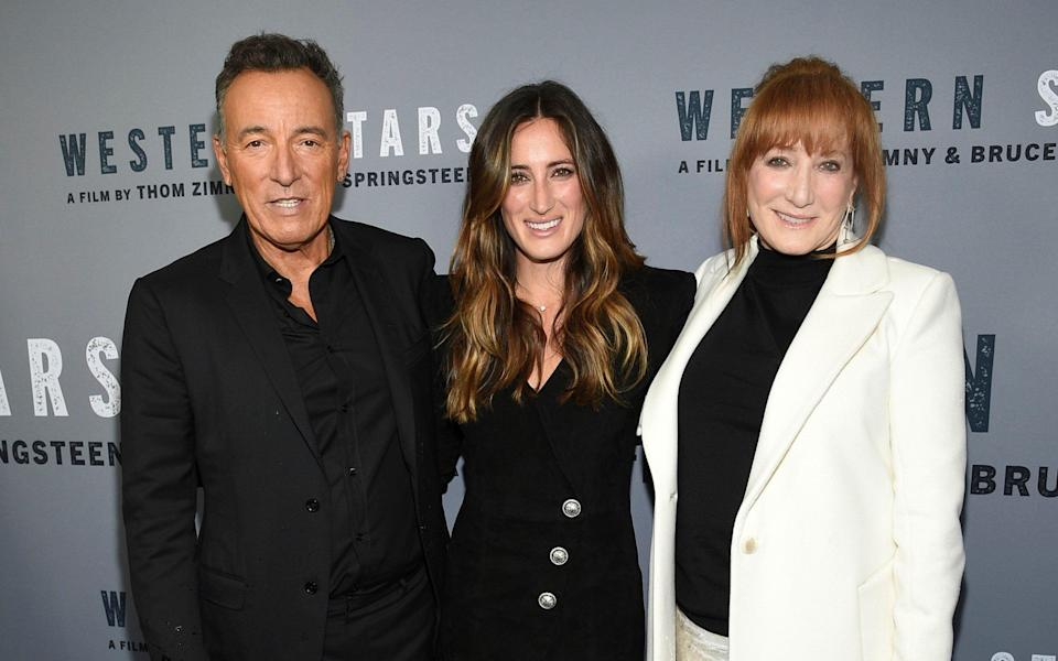 Jessica Springsteen stepping of Bruce's shadow: 'Musicians get to sing it again, riders just get one shot' - AP