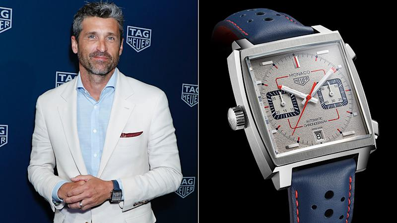 Patrick Dempsey Is Already Attached To Tag Heuers New Limited