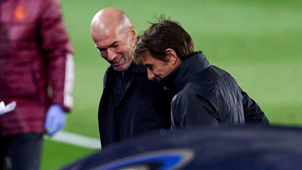 Zidane y Conte | Quality Sport Images/Getty Images