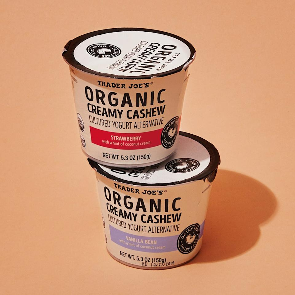 "<h1 class=""title"">1119-Trader-Joes-cashew-yogurt.jpg</h1><cite class=""credit"">Photo by Laura Murray</cite>"