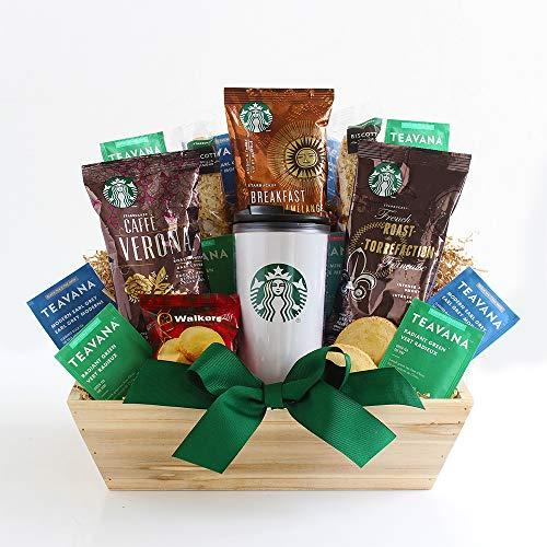 California Delicious Starbucks Daybreak Gourmet Coffee Gift Basket (Amazon / Amazon)