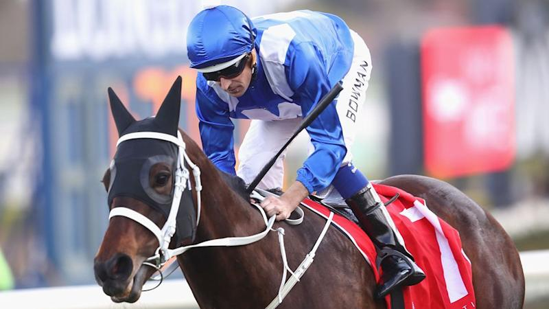 Bowman could seal a 21st straight win with Winx on Saturday. Pic: Getty