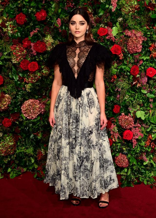 Jenna Coleman at the Evening Standard Theatre Awards 2018 – London