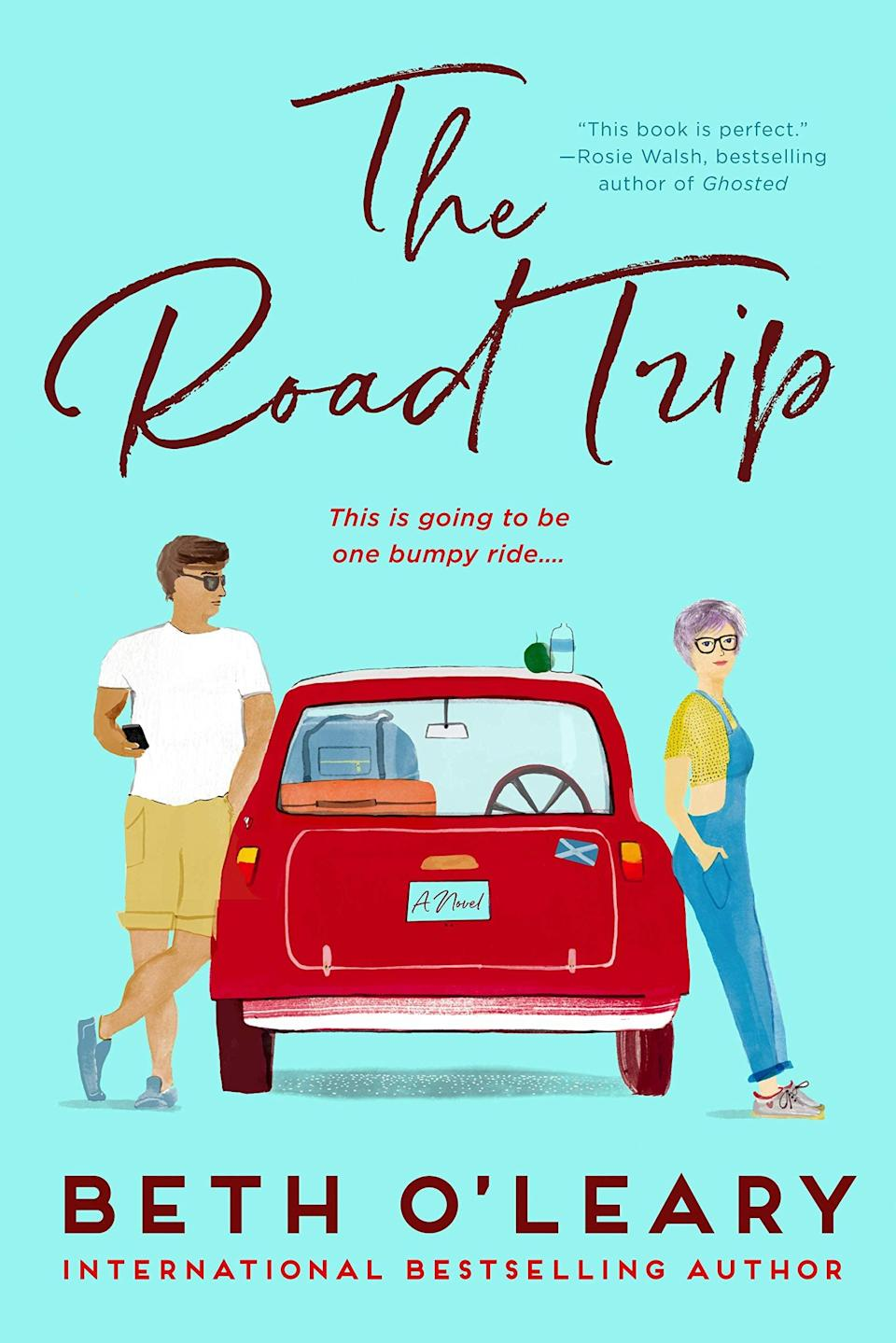 """<p><span><strong>The Road Trip</strong></span> by Beth O'Leary is an enchanting ride across Great Britain that doubles as an ode to second chances. When exes Dylan and Addie literally crash into each other on the way to a <a class=""""link rapid-noclick-resp"""" href=""""https://www.popsugar.com/Wedding"""" rel=""""nofollow noopener"""" target=""""_blank"""" data-ylk=""""slk:wedding"""">wedding</a>, they end up with no option but to cram themselves into an overcrowded car if they have any hope of making it to the event on time. </p> <p><em>Out June 1</em></p>"""
