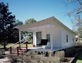 """<p><strong>Elvis Presley Birthplace</strong></p><p>Tupelo, Mississippi, is home to the <a href=""""https://elvispresleybirthplace.com/"""" rel=""""nofollow noopener"""" target=""""_blank"""" data-ylk=""""slk:birthplace"""" class=""""link rapid-noclick-resp"""">birthplace</a> of world famous singer, Elvis Presley. The two-bedroom house was built by his father, grandfather and uncle. Today the home serves as a museum and preservation of the American musician—part of the <a href=""""http://msbluestrail.org/"""" rel=""""nofollow noopener"""" target=""""_blank"""" data-ylk=""""slk:Mississippi Blues Trail"""" class=""""link rapid-noclick-resp"""">Mississippi Blues Trail</a>.</p>"""