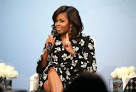 <p><strong>'Don't ever make decisions based on fear. Make decisions based on hope and possibility. Make decisions based on what should happen, not what shouldn't.'</strong></p><p>The former First Lady made the comments in a speech in Phoenix, Arizona in 2008 - while she was campaigning for husband Barack Obama's presidential bid.</p>