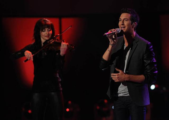 "Paul Jolley performs Lonestar's ""Amazed"" on the Wednesday, March 13 episode of ""American Idol."""