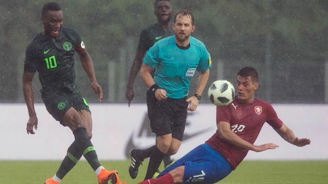 Gernot Rohr's men ended their preparations for the 2018 World Cup on a losing note against Karel Jarolim's charges in Austria