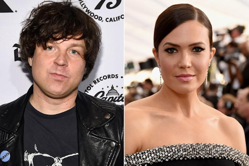 Ryan Adams and Mandy Moore | Kevin Mazur/WireImage; Presley Ann/Getty Images