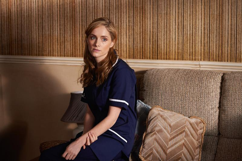 Vicky Budd (Sophie Rundle) is there for her husband when he needs her most (Picture: BBC)