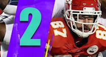 <p>The Chiefs still have the inside track to the No. 1 seed. The Chargers would be the fifth seed and possibly have to beat the Steelers and Texans on the road to even get an AFC championship game at the Chiefs. (Travis Kelce) </p>