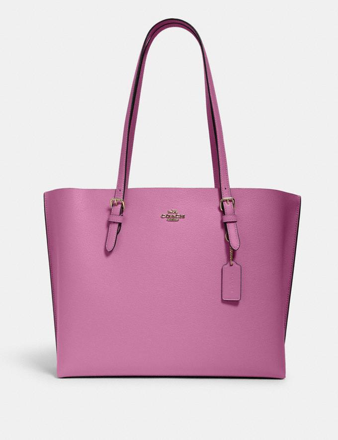 The Mollie Tote is on sale at Coach Outlet for $113 (originally $378).